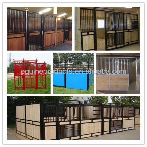 Suuuuper cheap horse stalls!