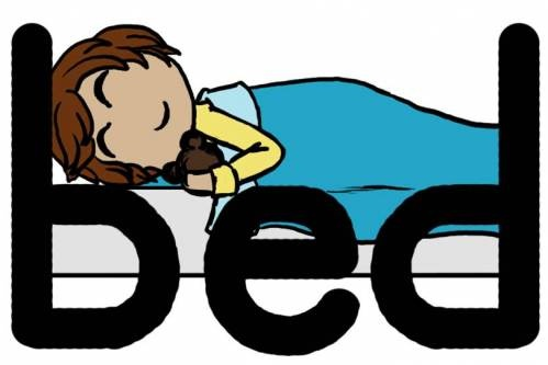 Bed of deb?