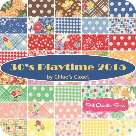 30 S Playtime 2015 Charm Packchloe S Closet For Moda
