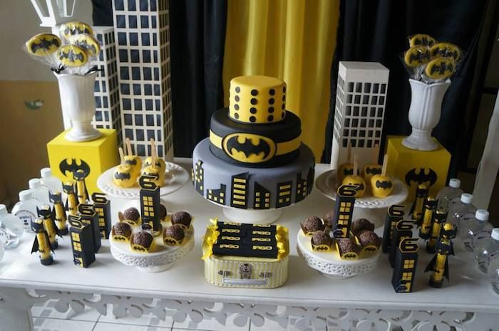 Batman Themed Birthday Party