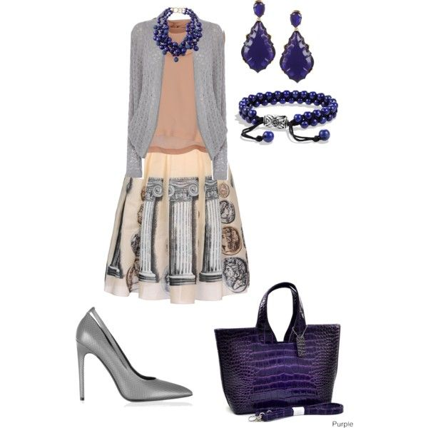 """Roman purple"" by lovemybodyru on Polyvore"