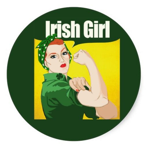 ==>>Big Save on          	Irish Girl Vintage Rosie Riveter Round Stickers           	Irish Girl Vintage Rosie Riveter Round Stickers you will get best price offer lowest prices or diccount couponeThis Deals          	Irish Girl Vintage Rosie Riveter Round Stickers Online Secure Check out Quick...Cleck Hot Deals >>> http://www.zazzle.com/irish_girl_vintage_rosie_riveter_round_stickers-217233662824721549?rf=238627982471231924&zbar=1&tc=terrest