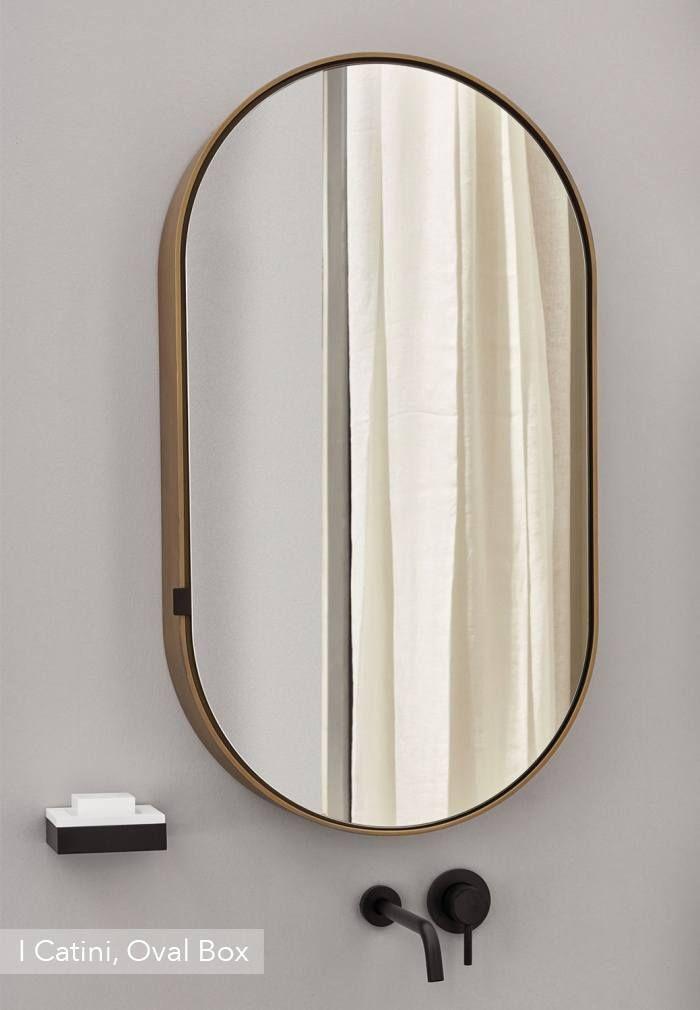 Oval Box 2 Storage Mirror Bathroom Mirror Cabinet Mirror Cabinets