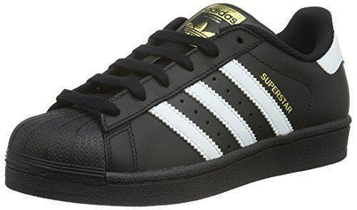 Oferta: 55€. Comprar Ofertas de adidas Superstar Foundation J - Zapatillas para niño, color negro / blanco, talla 39 1/3 barato. ¡Mira las ofertas!