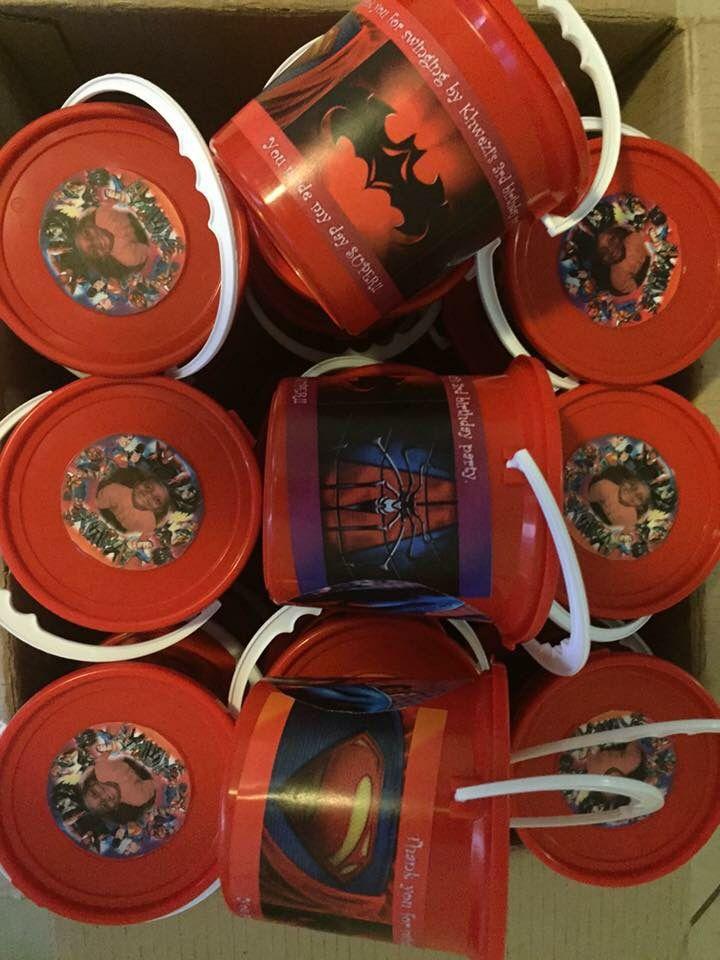 Superheroes party packs