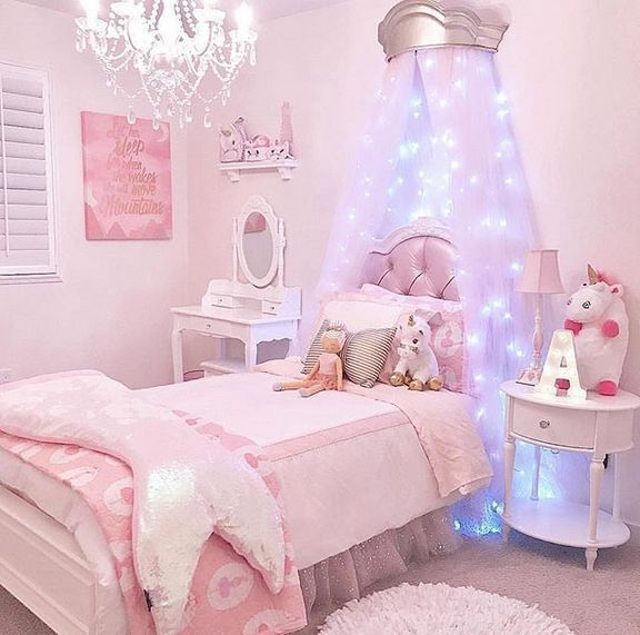 32 Dreamy Bedroom Designs For Your Little Princess: 27 Fabulous Girls Bedroom Ideas To Realize Their Dreamy