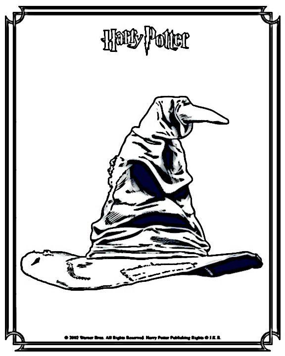 Disegni da colorare Harry Potter 11