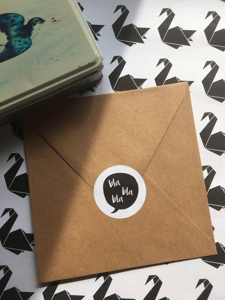 Bla Bla Bla Tekstballon Quote [sluit] sticker | Zwart/Wit | 40 mm | 24 stuks per vel door PaperCandyNL op Etsy