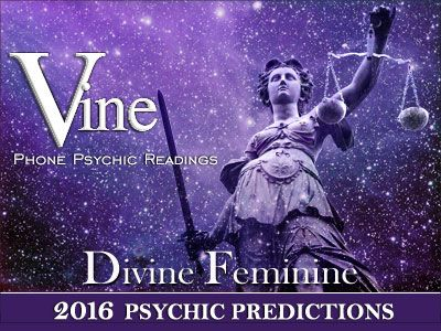 2016 New Year Psychic Prediction Message by Australia's Top Psychic Predictor Vine. Vine was shown a Spiritual Vision of the Divine Feminine Goddess holding the Scales of Justice for the 2016 Year. Every year her higher Spiritual Guardians channel spiritual prophecy about the Year ahead. To check out Vine's 2016 Psychic Predictions for the coming year go to http://www.vinemedium.com.au/psychic-predictions.html#Psychic-Predictions-Message-for-2016 #2016PsychicPredictions…