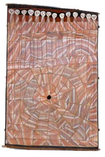 John Mawurndjul / Ancestors at Milmilingkan 168 x 110 cm