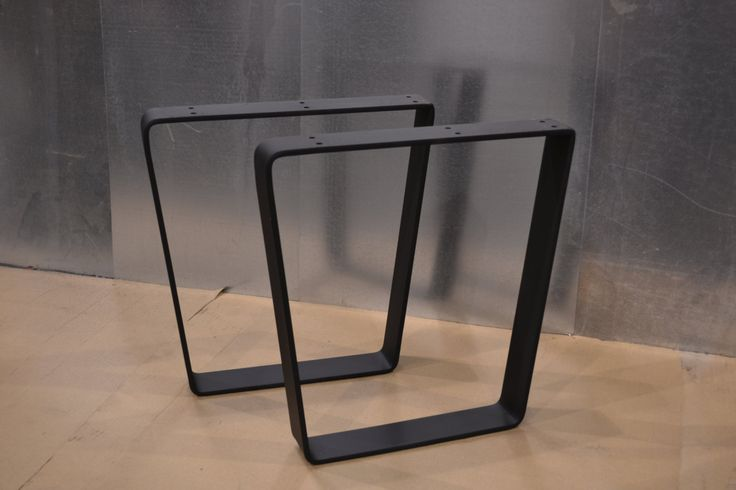 Tapered Trapezoid Style Metal Table/Bench/Desk Legs - Any Size/Color