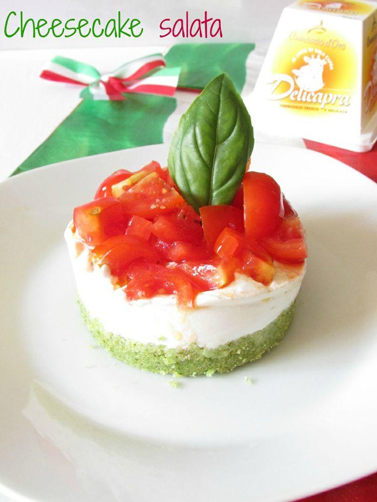Cheesecake salata... mondiale!!