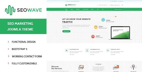 SeoWave | One-Stop Digital Marketing Template
