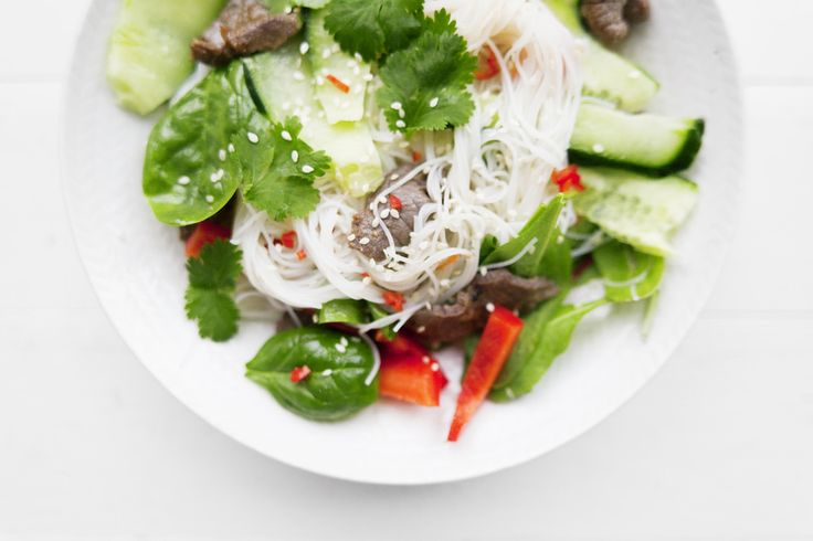 Cold noodle salad | bon.se - Bons digital home.