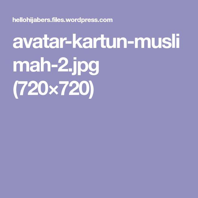 avatar-kartun-muslimah-2.jpg (720×720)