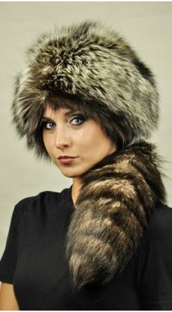 Silver fox fur hat with a true silver fox fur tail are available for trendy women. Its soft and warm.  It has a fantastic natural color with different white-silver to black shades. Get more details, visit: https://www.amifur.com/silver-fox-fur-hat-with-tail