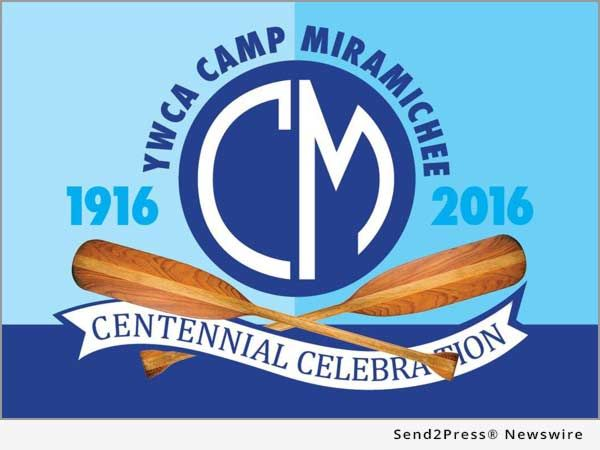 As many as 100 former YWCA Camp Miramichee campers will gather at the site of their old camp September 16-18, 2016, to celebrate the venerable summer girls camp's 100th birthday, the Camp Miramichee Reunion committee announced today.
