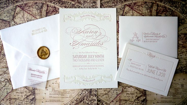 Elegant-Pink-Letterpress-Brooklyn-Wedding-Invitations-Suite.jpg 800×450 pixels