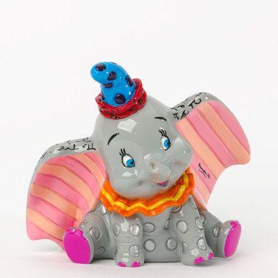 Romero Britto Disney Dumbo Miniature Pop Art Figurine 4033975 Elephant New
