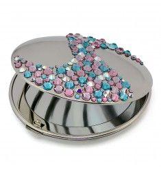 Mont Bleu Corals Luxury Compact Makeup Mirror ACS-08.3
