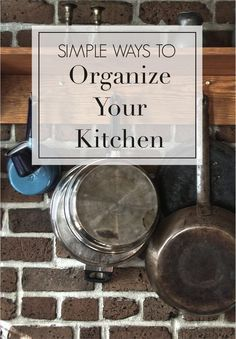 Organize your kitchen and make the most out of the space you have  Go through each item and decide if it  s something you are really using  It may be taking away precious space from something you use more often  For those items you choose not to keep  sell or donate them  Also try to keep your counters clear so you have enough workspace  The more clutter you see  the smaller your kitchen will feel  Read on as eBay shares simple ways to organize your kitchen