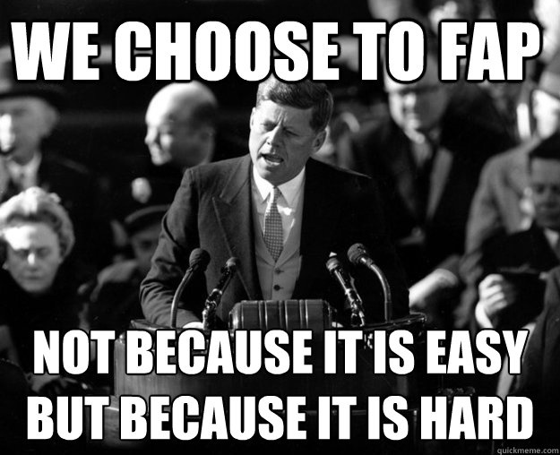 JFK on fapping