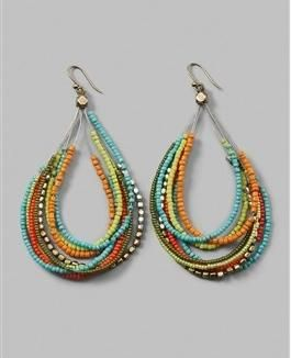 hoop earrings Ideas, Craft Ideas on hoop earrings