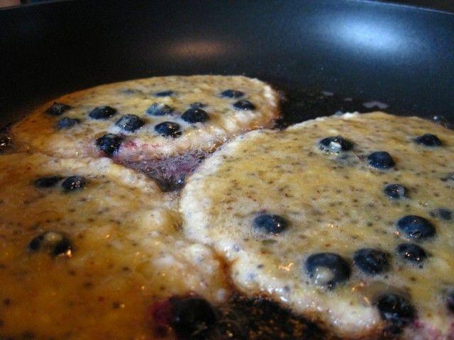 Rezept: Pfannkuchen ohne Mehl, mit Chia (glutenfrei) | Im Eichenhain