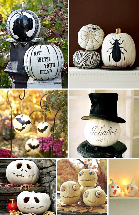 Pumpkin Decor!!!! @L a Farme / Anne Homer  let's do some of these!