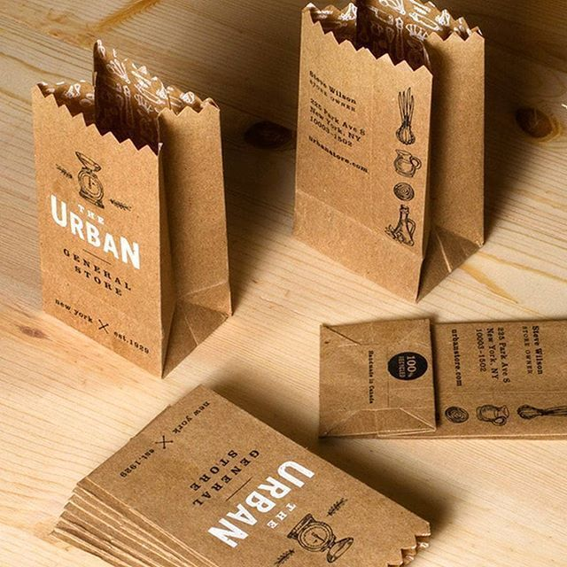 Branding inspiration:   Paper Bag Business Cards by the Urban General Store WANT MORE #DESIGNINSPIRATION?     Hire quality logo and branding designers at Twine. Twine can help you with branding, inbound marketing, brand identity, marketing, social media, branded content, marketing strategy, corporate identity, business card design, corporate design, embossed, luxury stationery, branding identity and more. #inboundmarketinglogo