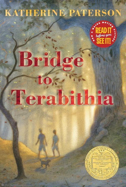 Browse Inside Bridge to Terabithia by Katherine Paterson, Illustrated by Donna Diamond #bannedbooksweek