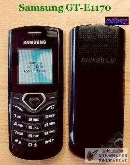 Különösen szép állapotú Samsung GT-E1170.