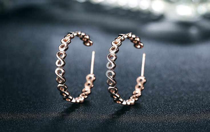 Superb Unique Design Infinity Open Ear Earrings infinity earrings, infinity jewelry, david yurman infinity earrings, sterling silver infinity earrings, snowflake earrings, silver hoop earrings, morganite earrings, gold hoop earrings, tanzanite earrings,  diamond earrings, knot earrings, silver earrings, infinity stud earrings, gold infinity earrings, infinity shape earrings, infinity symbol earrings, luxury infinity earrings, 925 infinity earrings