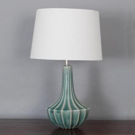 Cali Crackle Glaze Table Lamp Dunelm Not Sure About The Shade But I Love The Base Sitting