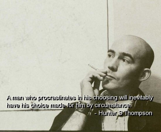 Drop more hunter s thompson fist stroking warm