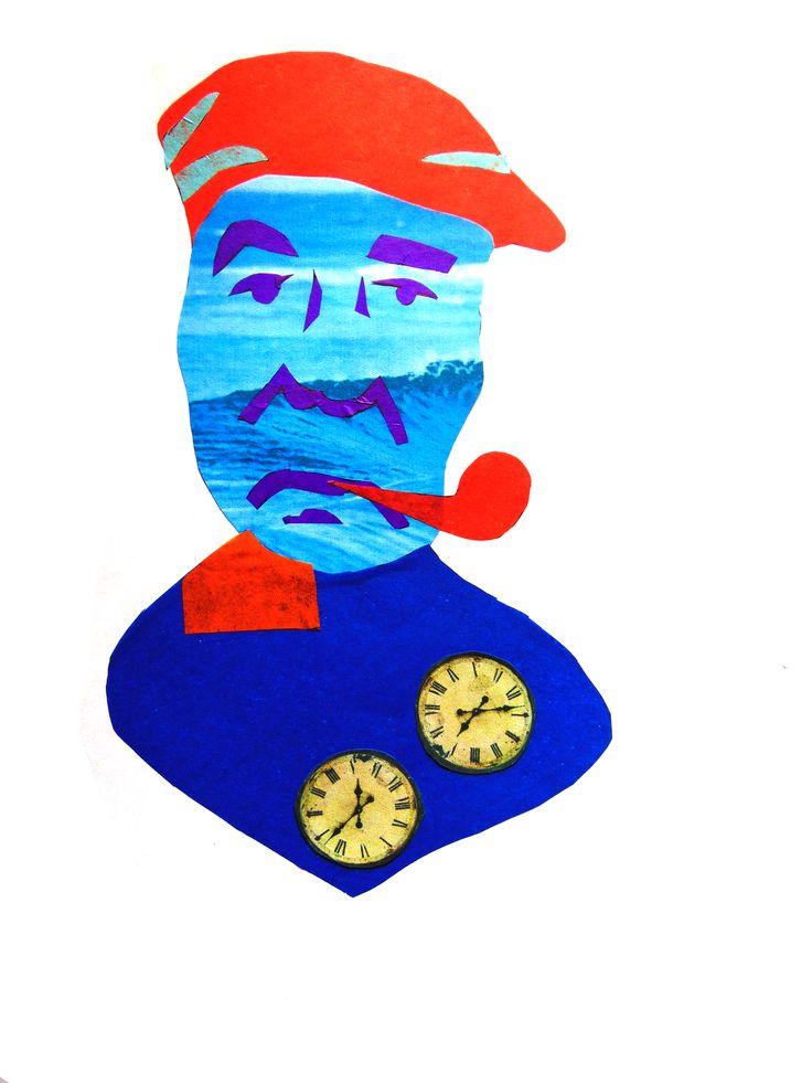Objetos + papel volantín. Pablo Neruda