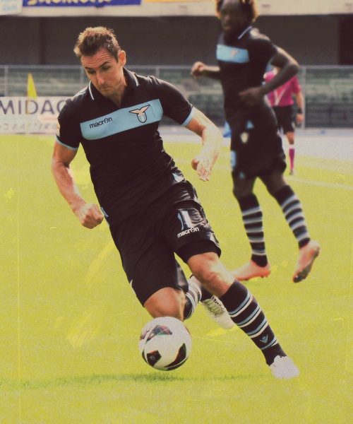 Miroslav Klose en SS Lazio