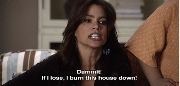 "On competition: | 21 Times Gloria From ""Modern Family"" Spoke The Goddamn Truth"