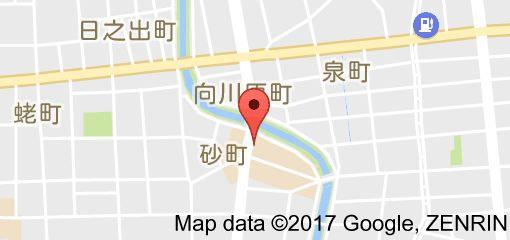 ひまわり食堂の地図