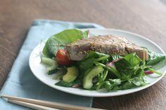 Aziatische salade met tonijnsteak | Snel en gezond | Taste Our Joy!