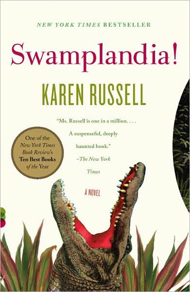 Swamplandia was this year's recipient on New York Public Library's Fiction Award for writers under the age of 35.  A fun read by a very inspirational author!