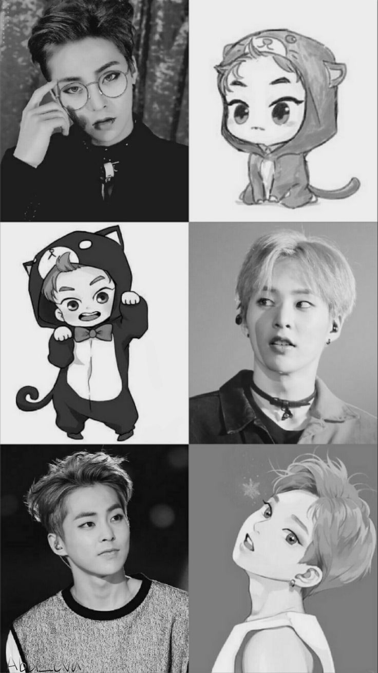 Xiumin 《I love this so much, this is so cute》