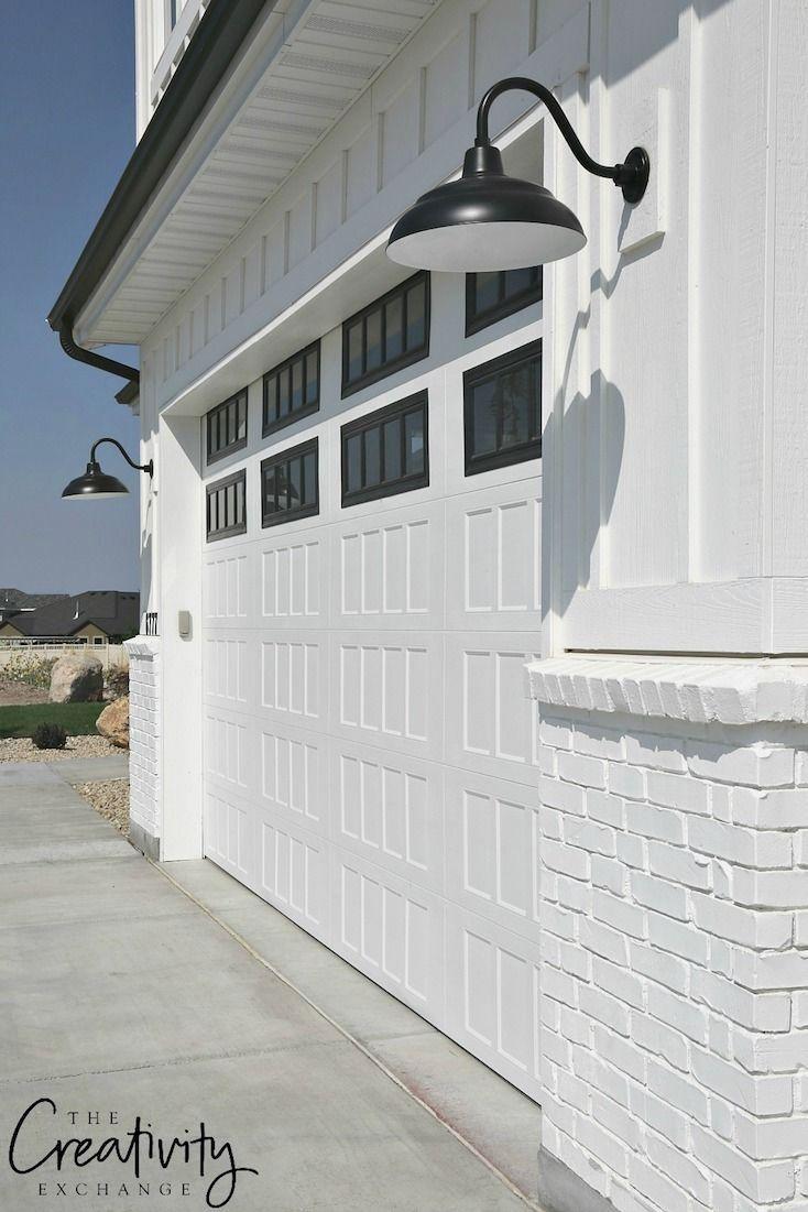 Garage Door Insulation Ideas And Pics Of Garage Doors For Sale Garagedoors Garageorganization G Modern Farmhouse Exterior Farmhouse Exterior Exterior Brick