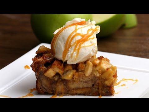This Apple Pie Bread Pudding Is So Good You Won't Want Any Other Dessert
