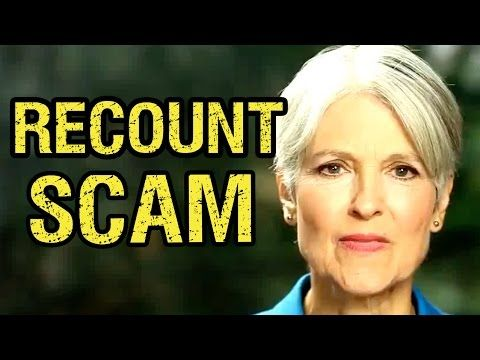 Jill Stein's Recount 2016 Scam Exposed - YouTube - This is bullshit!