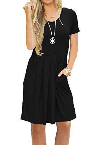Knee length dresses casual