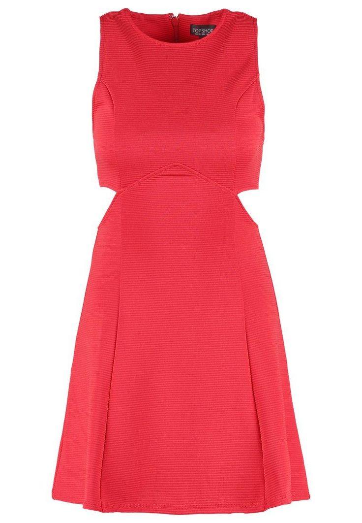 Topshop Sukienka z dżerseju red image