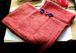 Child's Poncho pattern by Ellie Smallcombe
