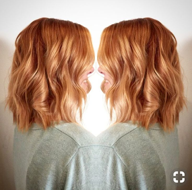 copper blonde long bob #longbob #lob #hair #hairstyles #copperhair #ginger #orangehair