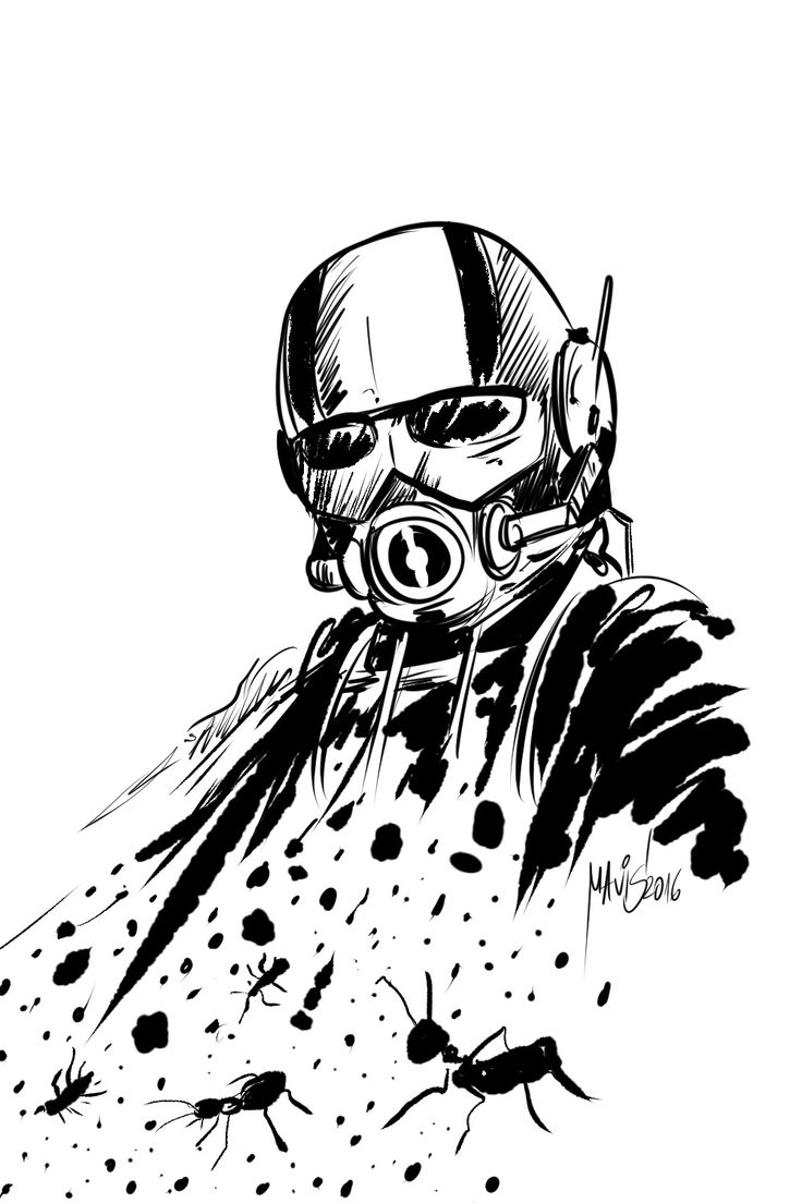 Ant Man Coloring Pages For Kids Ant Best Free Coloring Pages